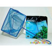 Síťka akvarijní modrá jemná 12,5cm