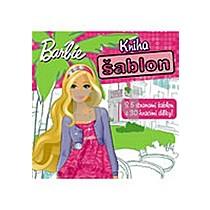 Barbie Kniha šablon