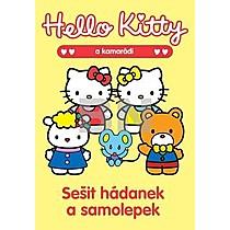 Hello Kitty Sešit hádanek a samolepek