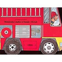 Hasičské auto a hasič Kubík