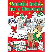 Vánoční kniha her a hlavolamů