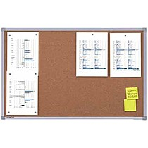Korková tabule - nástěnka 90 x 120 cm
