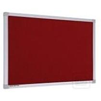 Fliesová tabule - nástěnka 60 x 90 cm, červená