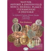 Slovník autorů a zhotovitelů mincí, medailí, plaket, vyznamenání