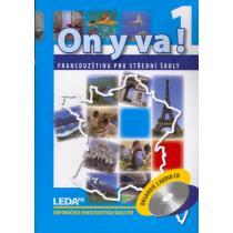 ON Y VA! 1 - Francouzština pro střední školy - učebnice + 2CD