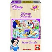 EDUCA Dřevěné puzzle Disney, 100 dílků