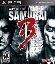Way of The Samurai 3 (PS3)