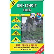 Biele Karpaty Trenčín 1:50 000
