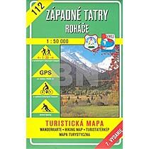 Západné Tatry Roháče 1:50 000