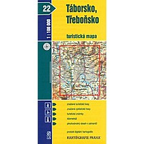 Táborsko, Třeboňsko 1:100 000