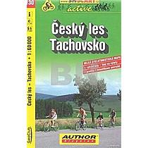 Český les Tachovsko 1:60 000