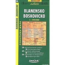 Blanensko Boskovicko 1:50 000