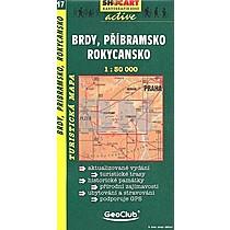 Brdy, Příbramsko, Rokycansko 1:50 000