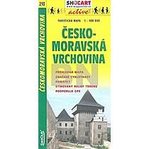 Českomoravská vrchovina 1:100 000
