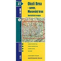 Okolí Brna - sever, Moravský kras 1:100 000