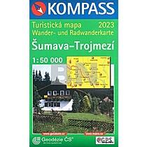 Šumava - Trojmezí 1:50 000
