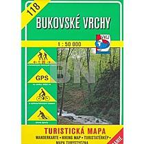 Bukovské vrchy 1 : 50 000
