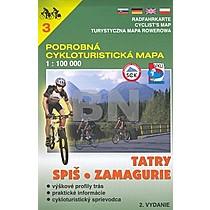 Tatry, Spiš, Zamagurie 1:100 000