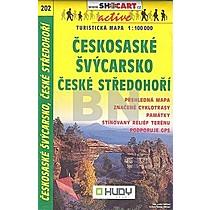 Českosaské Švýcarsko České středohoří 1:100 000