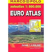 Euro atlas autoatlas 1:800 000