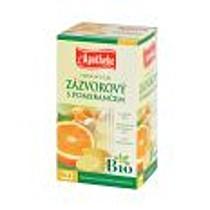 Mediate Čaj Zázvorový s pomerančem 30 g BIO