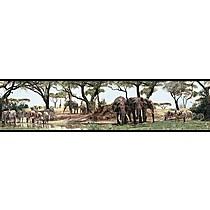 Samolepící dekorace,obrázky - bordura Safari