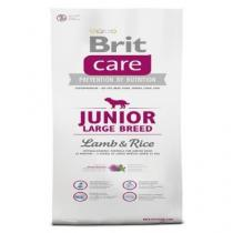 BRIT CARE JUNIOR LARGE BREED LAMB & RICE 1KG