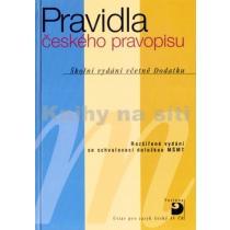 Pravidla českého pravopisu – Školní vydání včetně Dodatku