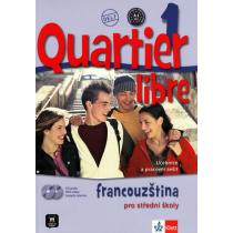 Quartier libre 1 - učebnice + CD, DVD a časopis La revue de jeunes