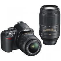 Nikon D3100 + 18-55 mm AF-S DX VR + 55-300 mm AF-S DX VR
