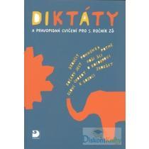 Diktáty a pravopisná cvičení pro 5. ročník ZŠ Konopková