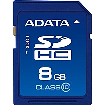 A-DATA 8GB Secure Digital SDHC CLASS 10