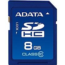 A-DATA 8GB Secure Digital SDHC CLASS 10
