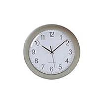 DCF 672667 nástěnné hodiny, stříbrné