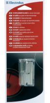 Electrolux 10ks Náhradní břity škrabky