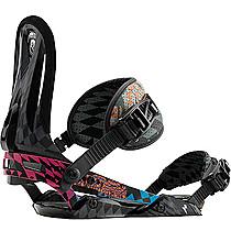 Snowboard vázání