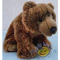 Medvěd hnědý 22 cm - plyšové hračky