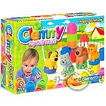 Clementoni CLEMMY - Zvířátka a barevné kostky