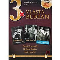 3x Vlasta Burian III 3xDVD