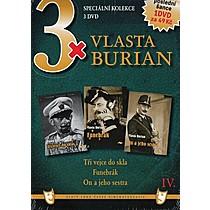 3x Vlasta Burian IV 3xDVD