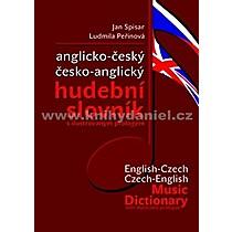 Jan Ludmila Spisar Peřinová Anglicko český česko anglický hudební slovník