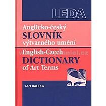 Jan Baleka Anglicko český slovník výtvarného umění