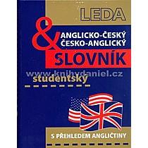 Břetislav Hodek Anglicko český a česko anglický studentský slovník