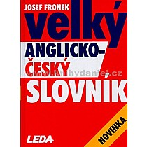 Josef Fronek Velký anglicko český slovník