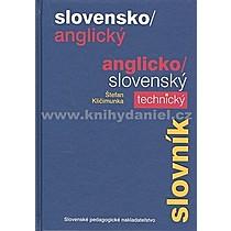 Štefan Kličimunka Slovensko/anglický anglicko/slovenský technický slovník