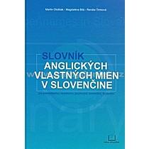 Kolektív autorov: Slovník anglických vlastných mien v slovenčine