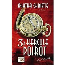 Agatha Christie 3x Hercule Poirot