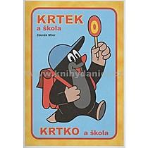 Krtek a škola omalovánka - Zdeněk Miler