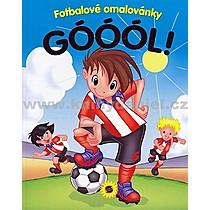 Góóó! Fotbalové omalovánky