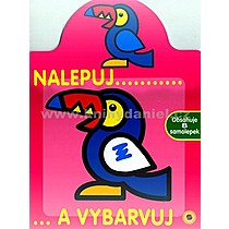 Nalepuj a vybarvuj Papoušek